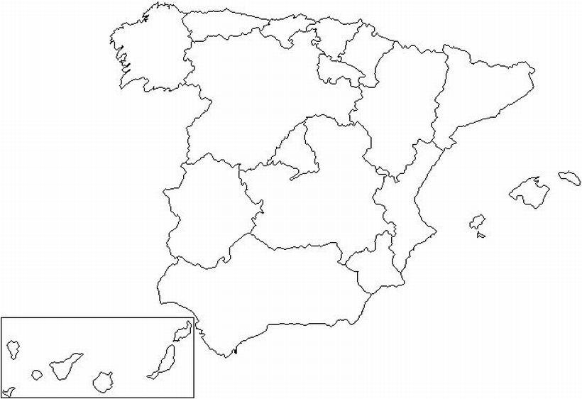 Juegos De Geografía Juego De Mapa De Comunidades Autónomas De España Cerebriti