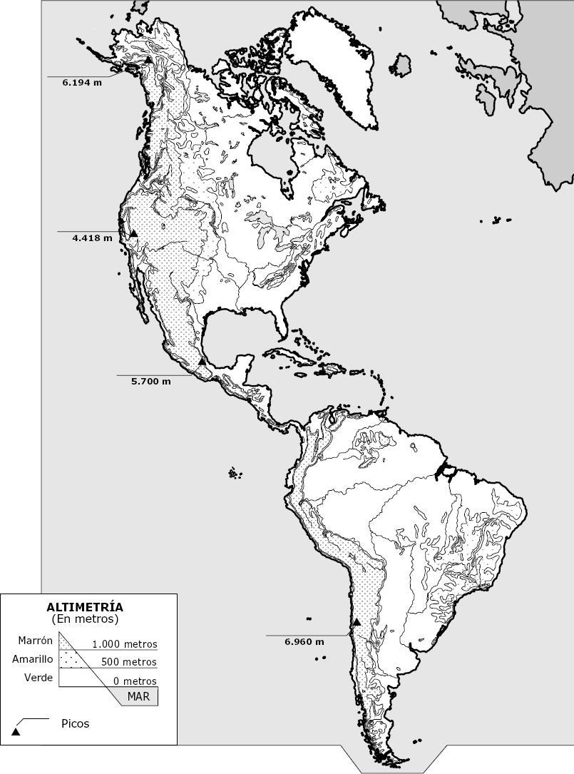 Juegos De Geografía Juego De Accidentes Geográficos De América 1 Cerebriti